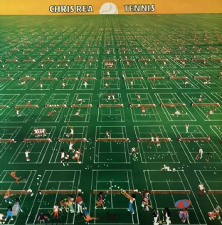 Chris Rea - Tennis (LP) (EX/EX)